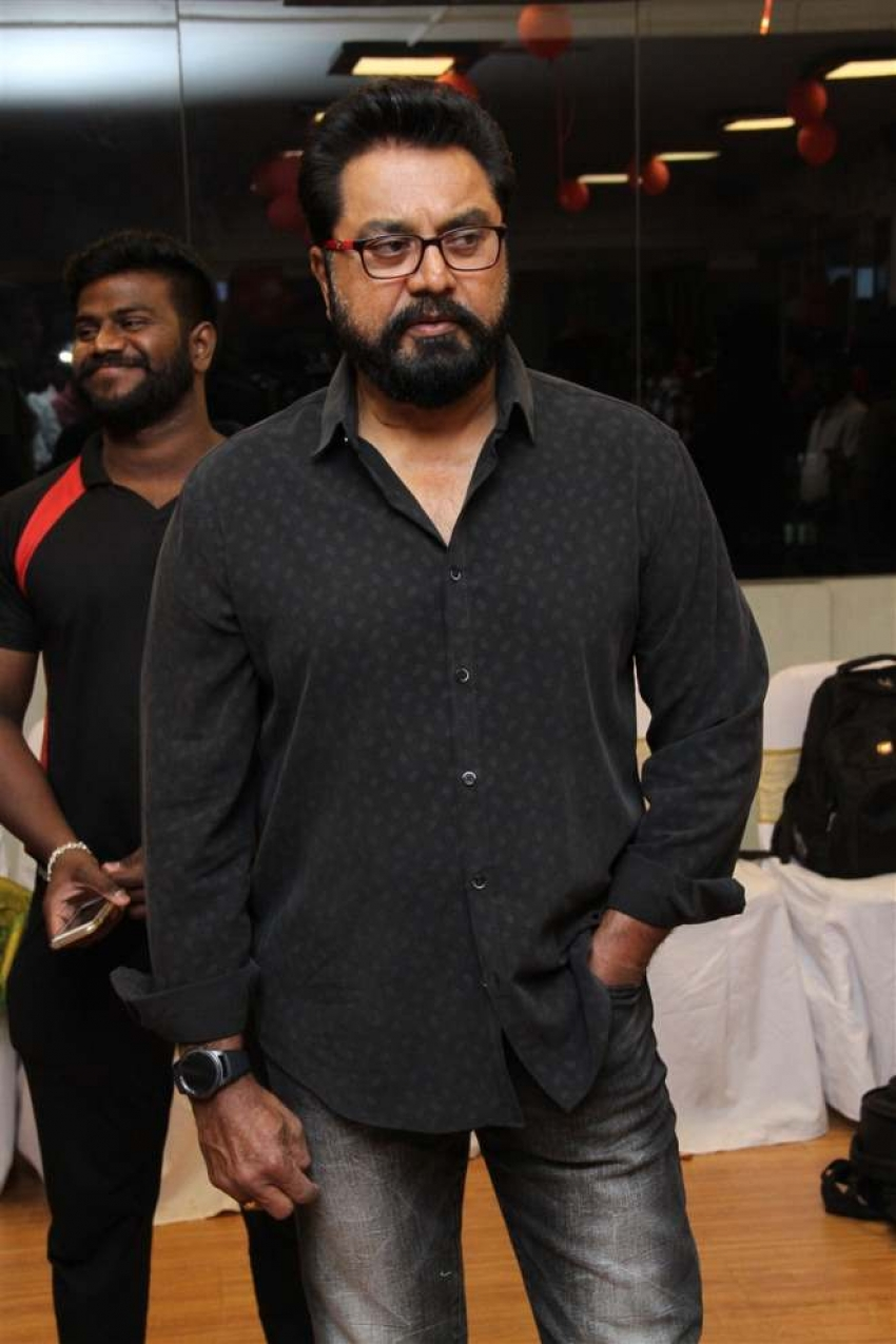 R.Sarathkumar launches Flux Fitness Studio Photos