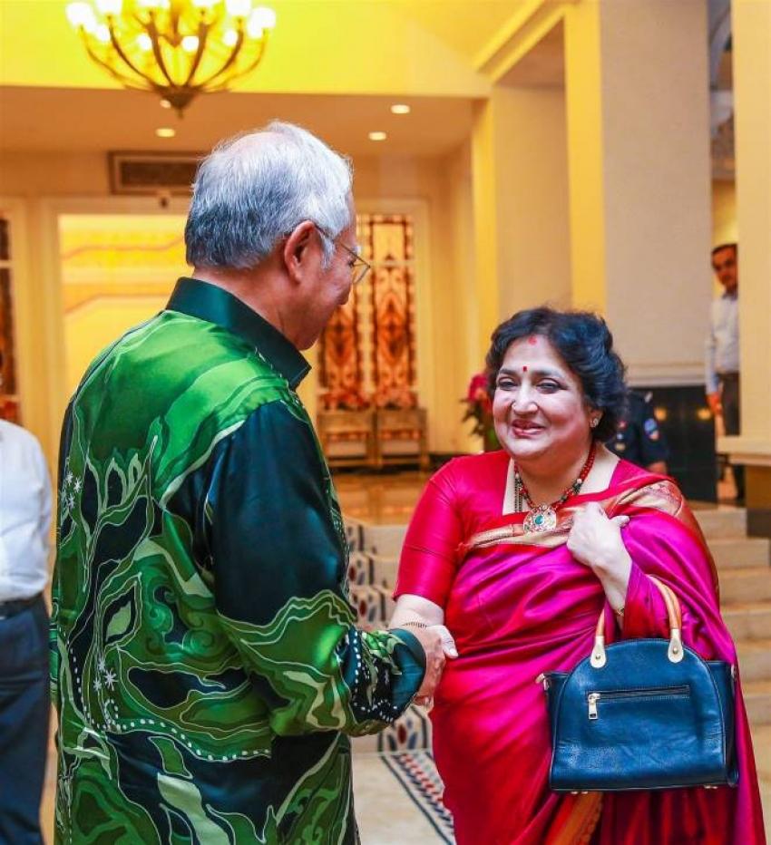 Rajinikanth meets Malaysian Prime Minister Photos