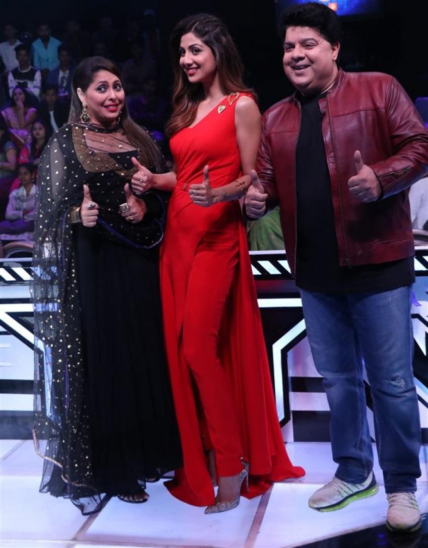 Sajid Khan Had A Gala Time On Super Dancer Chapter 2 Photos