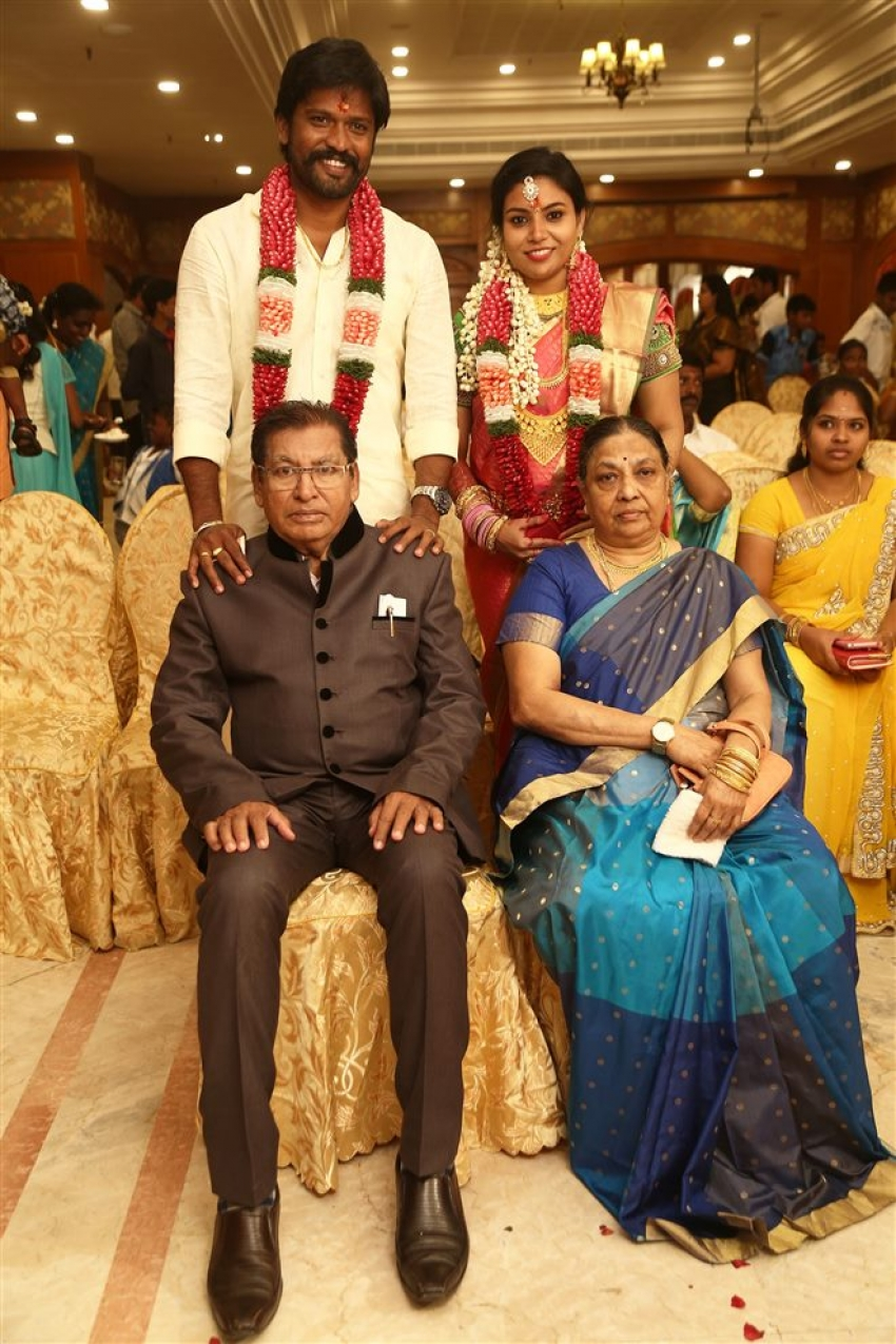 Soundararaja & Tamanna Engagement Photos