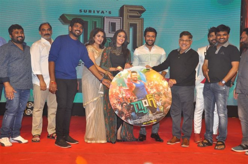 Suriya's Gang Movie Pre Release Function Photos