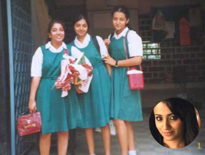 Indian Actor and Actress School Photos