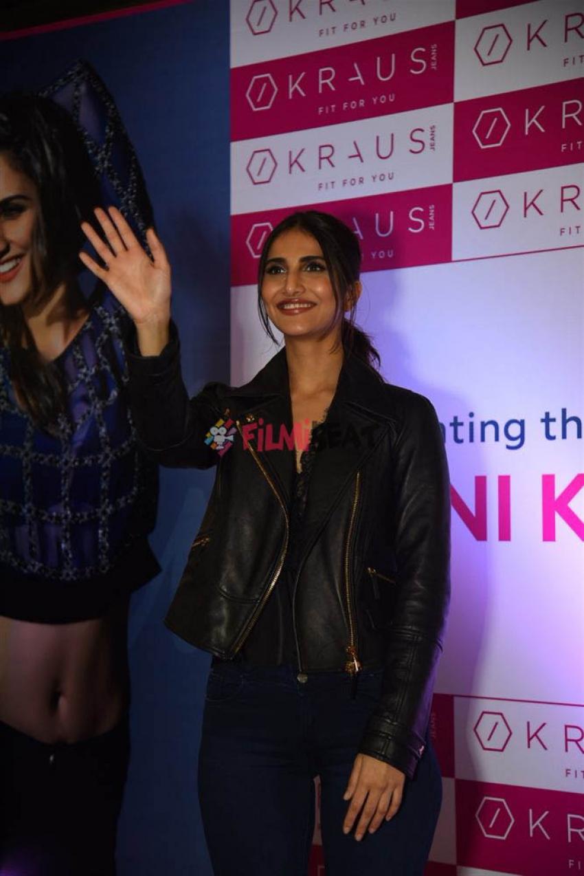Vaani Kapoor In Delhi Jeans At Kraus Jeans Store Photos