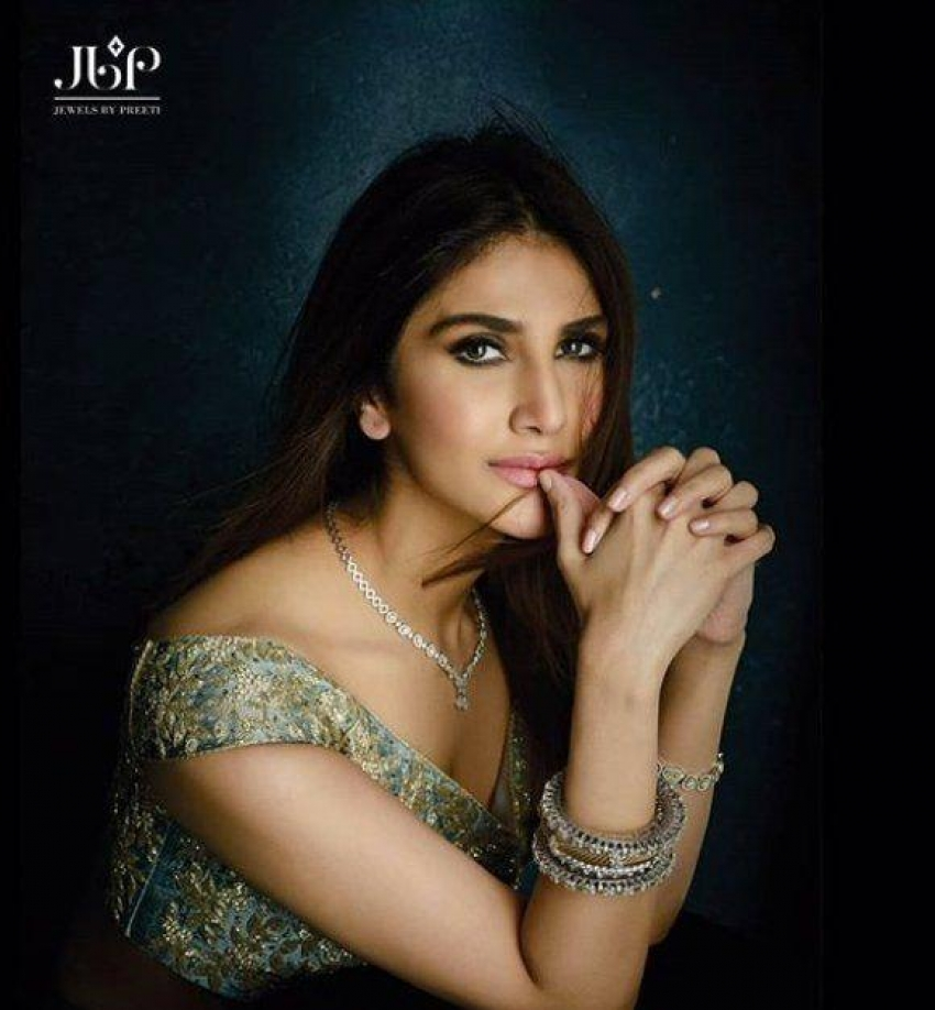 Vaani Kapoor PhotoShoot For JBP Jewelry Photos