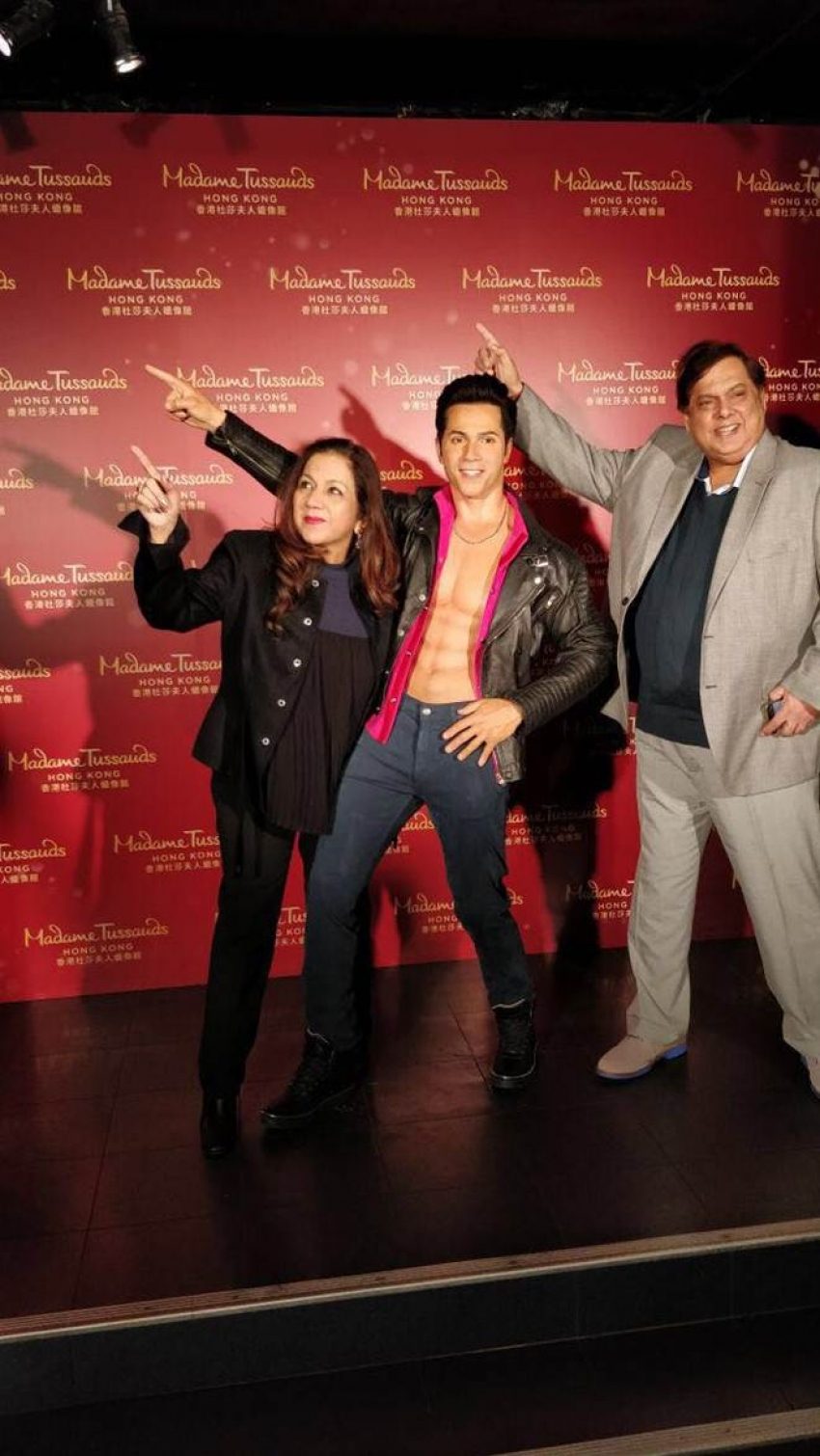 Varun Dhawan The Youngest Bollywood Actor At Madame Tussaud Photos