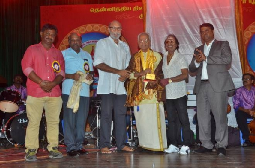 Vijayakanth Opened MGR Statue Photos
