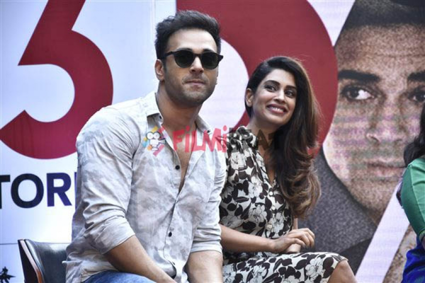 A Unique Trailer Launch for 3 Storeys In A Chawl Photos