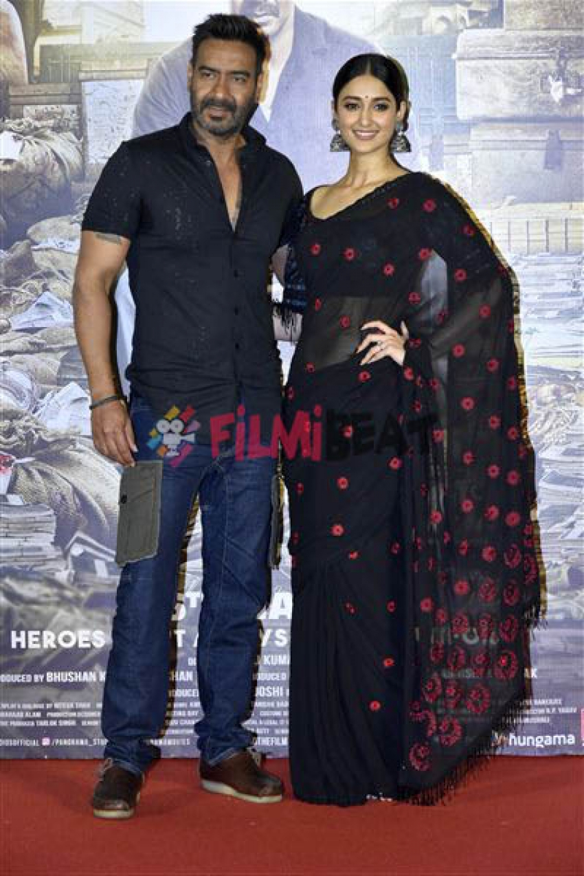 Ajay Devgan's Raid Trailer Launch At PVR Cinema Photos
