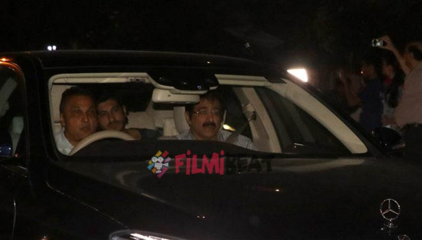Ambulance Arrives at Sridevi House In Lokhandwala Photos