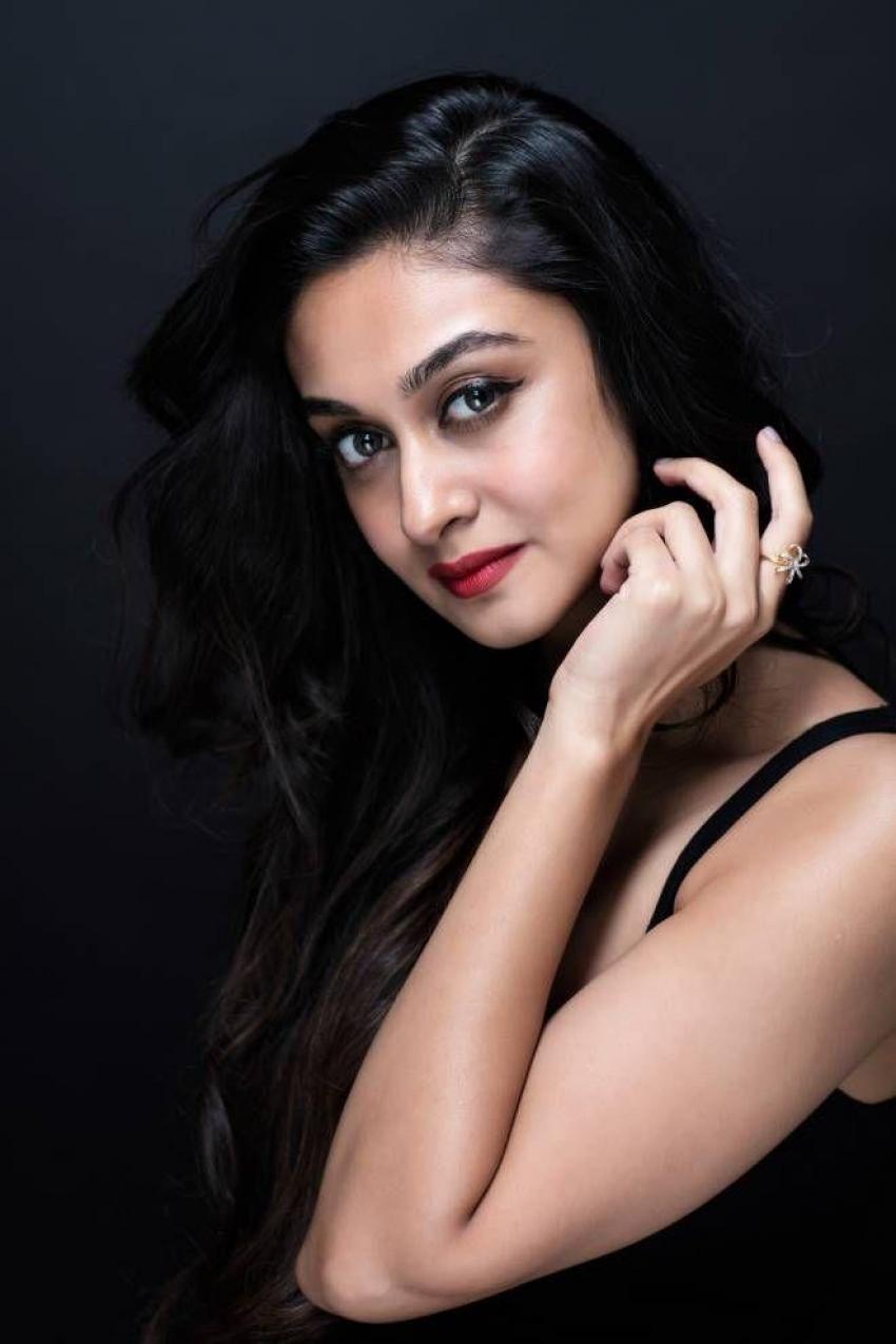 Arjun Sarja Daughter Aishwarya Unseen Photos