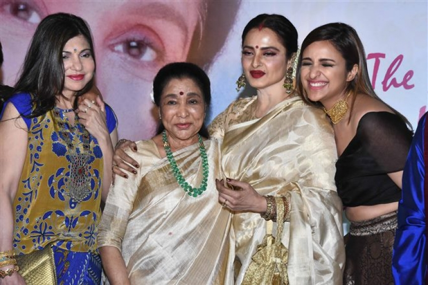 Asha Bhosle Honored With Yash Chopra Memorial Award 2018 Photos