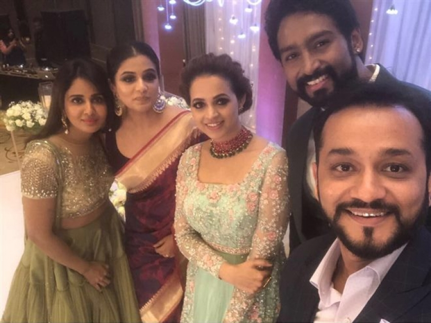 Bhavana & Naveen Wedding Reception Photos