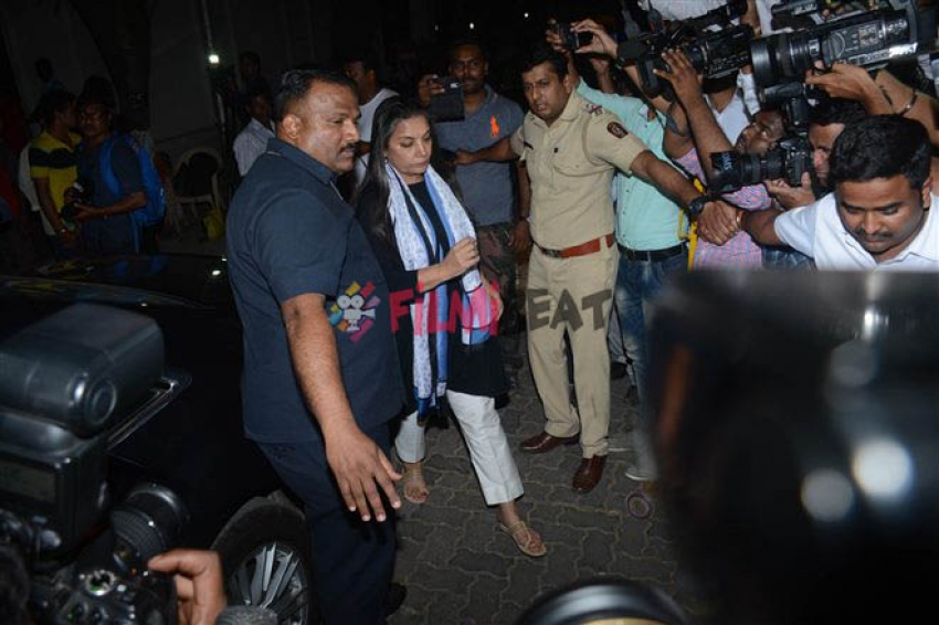 Celebs Pay Condolences At Anil Kapoor's Residence After The Sad Demise Of Sridevi Photos
