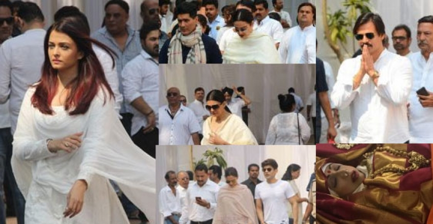 Fans And Celebs Pay Respect To Sridevi Kapoor At Prayer Meet Photos