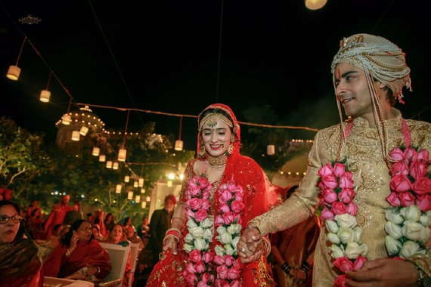 Gautam Rode And Pankhuri Awasthy Wedding Inside Photos