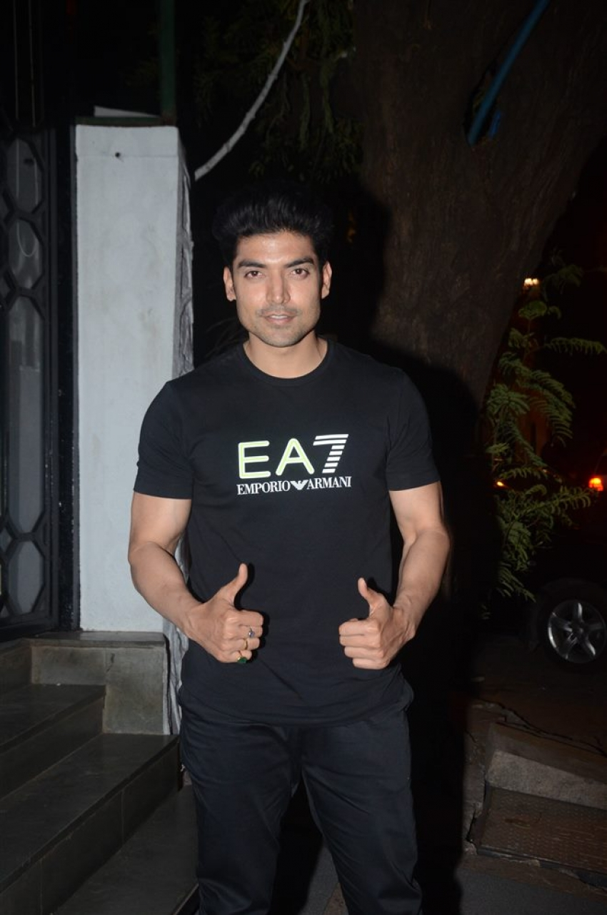 Gurmeet And Debina Celebrate Weding Anniversary Spotted At Korner House Bandra Photos