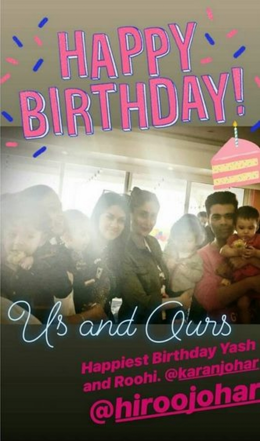 Inside Pictures Karan Johar's Twins Roohi And Yash's 1st Birthday Party Photos