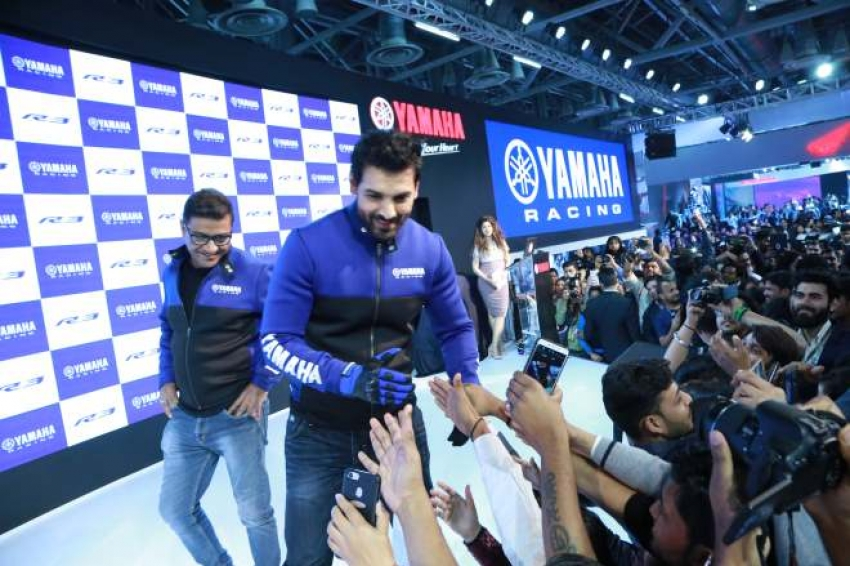 John Abrahm At Auto Expo 2018 In Noida Photos