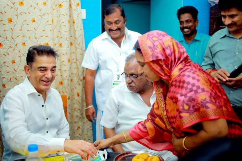 Kamal Haasan Visits Mr APJ Abdul Kalam House Photos