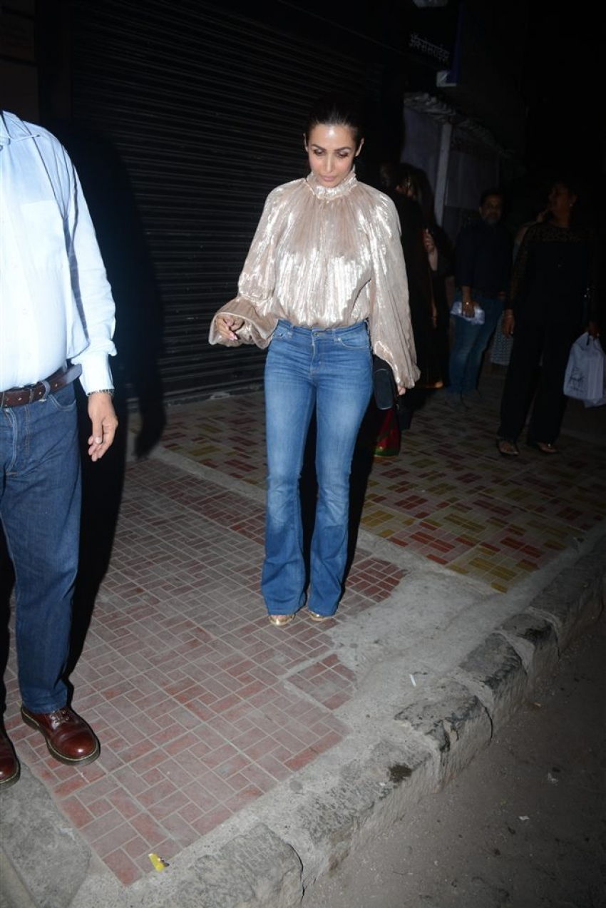Malaika Arora's Daddy's Birthday Celebration Spotted At Bastian Bandra Photos