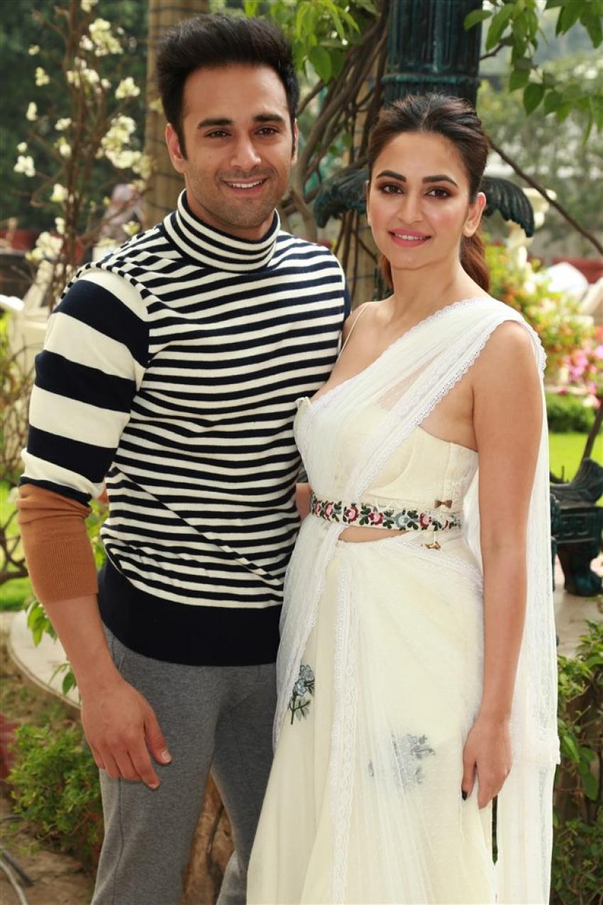 Pulkit Samrat And Kriti Kharbanda During Photoshoot For Upcoming Film Veere Di Wedding Photos