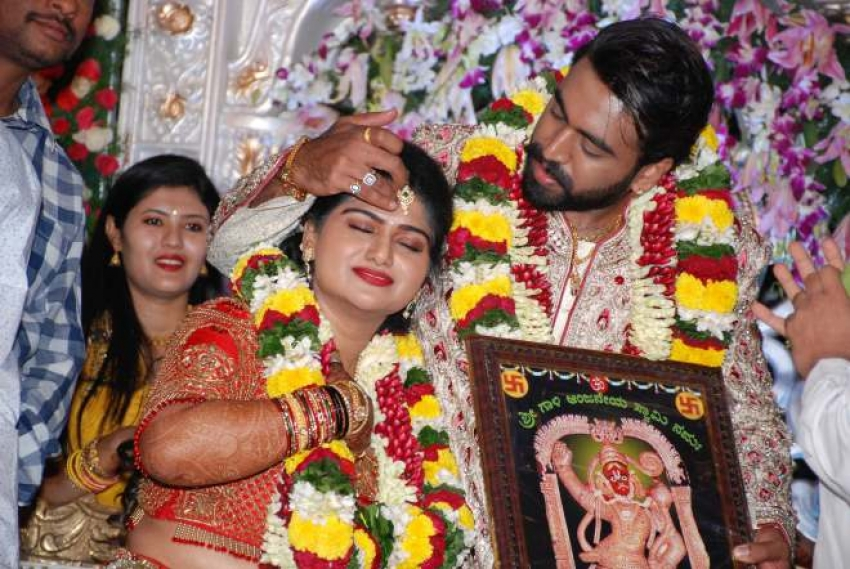 Sa Ra Govind Son Anoop Marriage Photos
