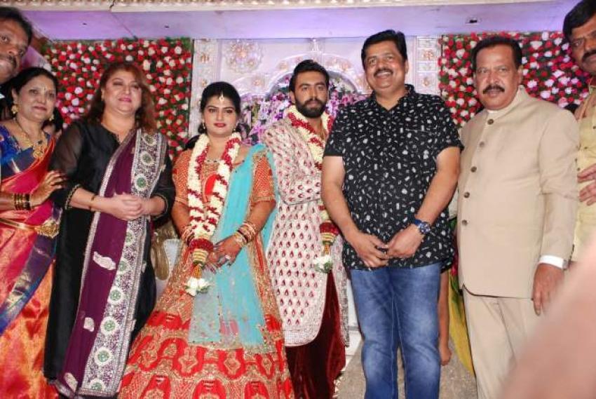 Sa Ra Govind Son Anoop Marriage Photos