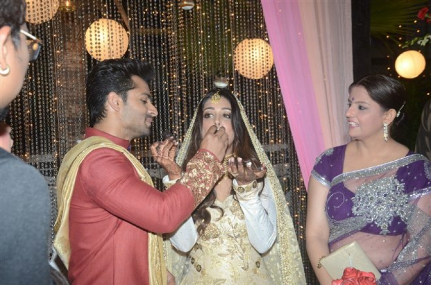 Shoaib Ibrahim & Dipika Kakar Wedding Reception Photos