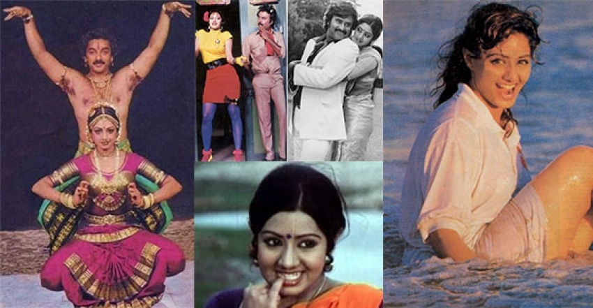 Unseen Pictures Of Sridevi From Her South Indian Films Photos