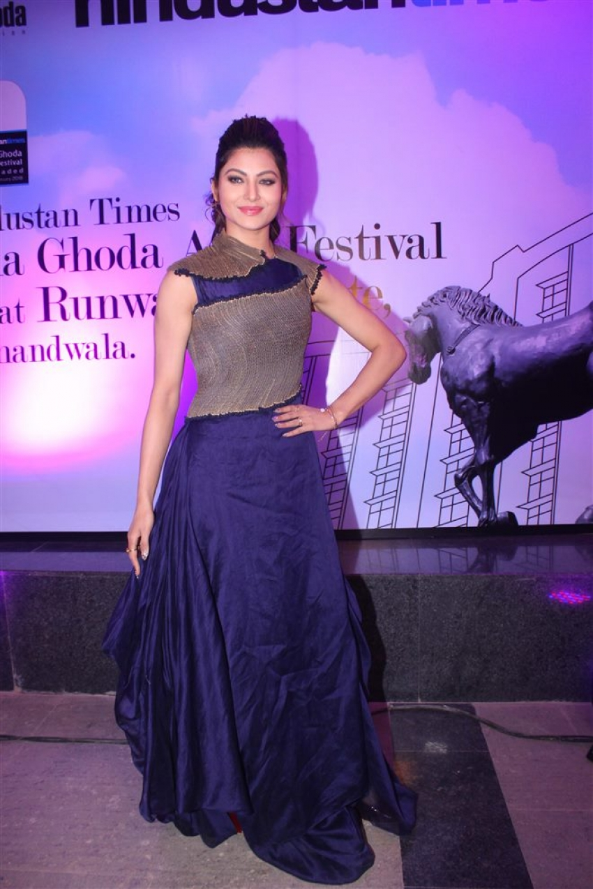 Urvashi Rautela At Kala Ghoda Arts Festival Reloaded 2018 Photos