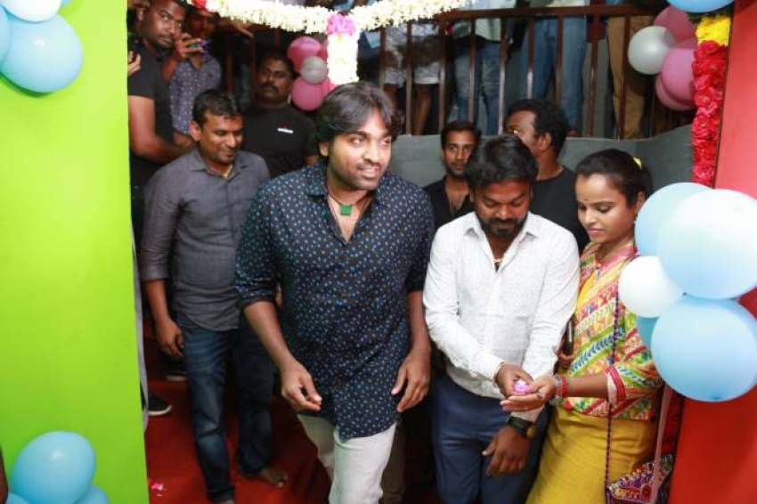 Vijay Sethupathi At Chals Dance Studio Grand Opening Photos