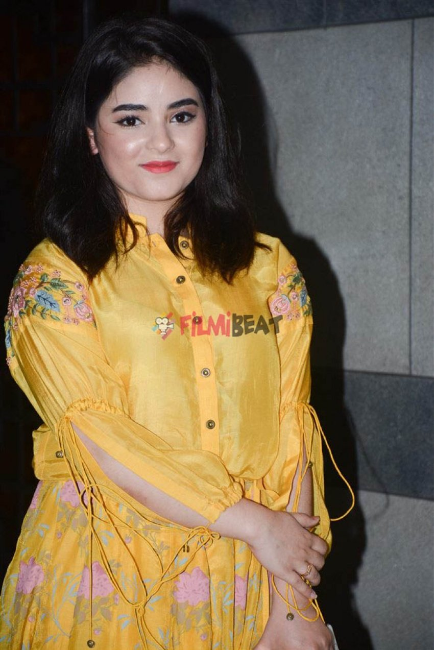 Zaira Wasim Photos
