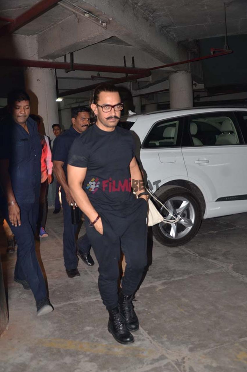 Aamir Khan And Actress Fatima Sheikh Watch Raid In Jodhpur Photos