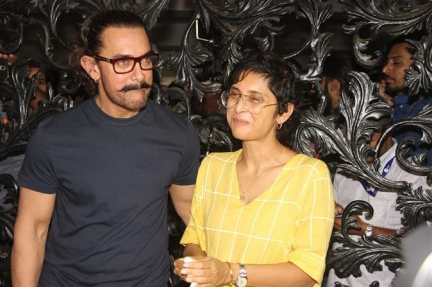 Aamir Khan Celebrates His Brithday With Media Photos