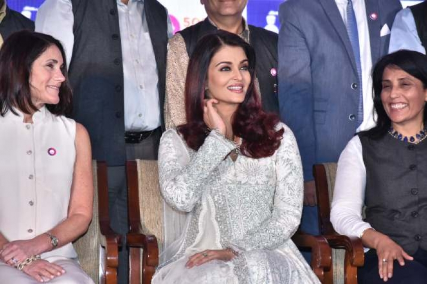 Aishwarya Rai Bachchan Celebrate Smile Train India 500,000 Free Cleft Surgeries Photos