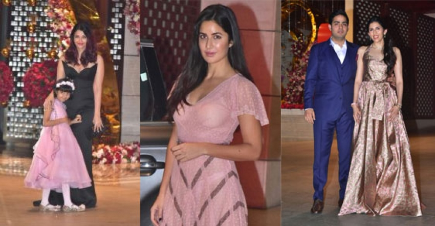 Bollywood Celebs At Akash Ambani Enagement Bash In Mumbai Photos