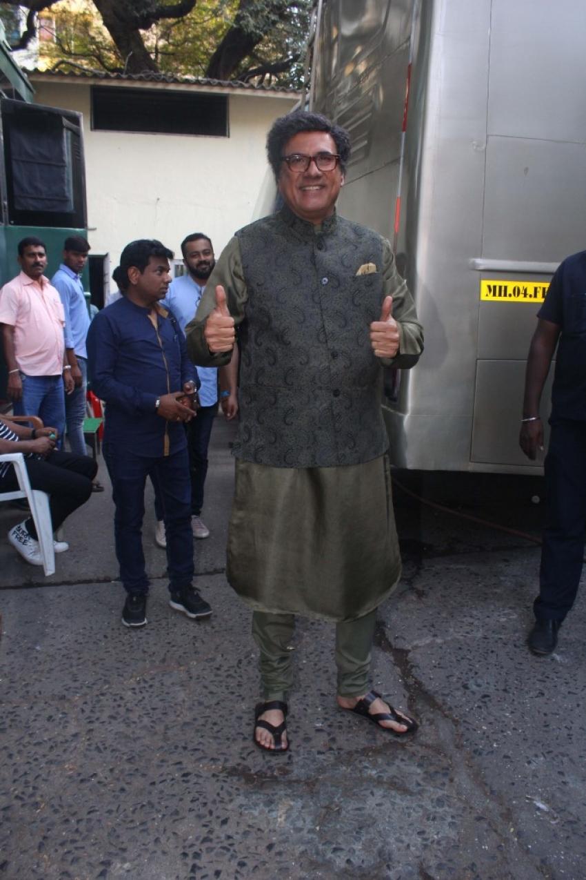 Boman Irani Spotted At Filmistan Studio Goregoan Photos