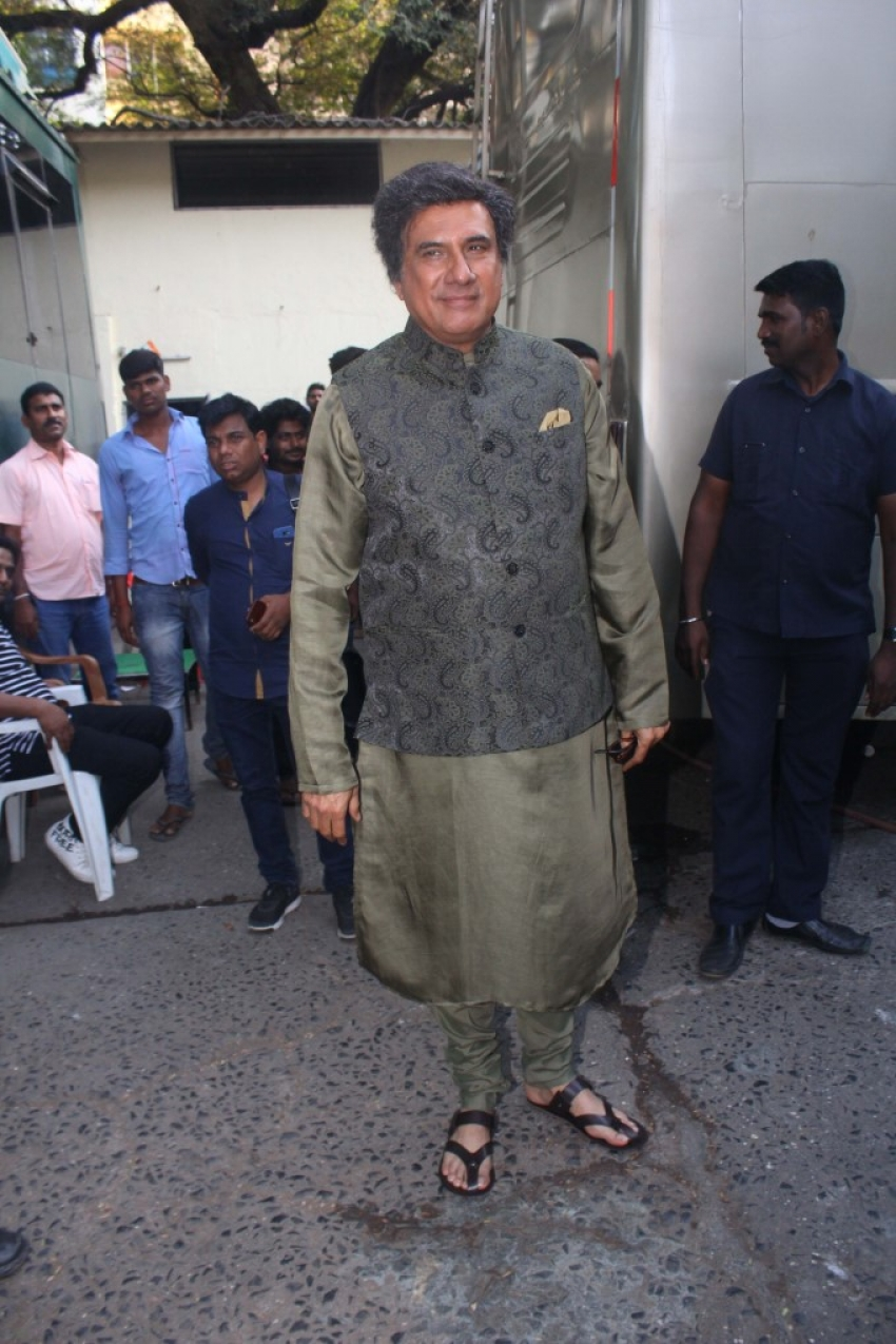 Boman Irani Spotted At Filmistan Studio Goregoan Photos