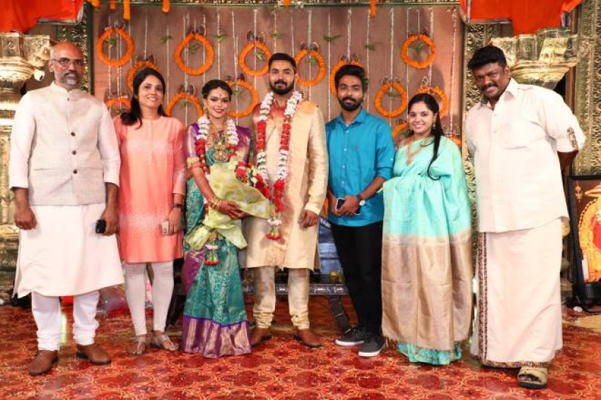 Director Parthiban and Actress Seetha's Daughter Wedding Photos