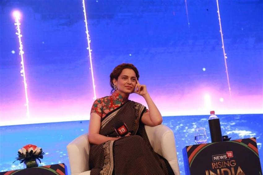 Kangana Ranaut At CNN IBN India Rising Event Photos