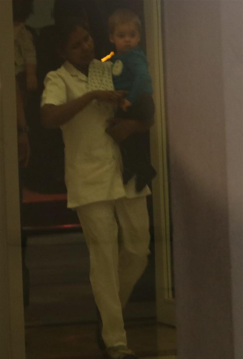 Karan Johar's Son Yash Spotted At Bandra Photos