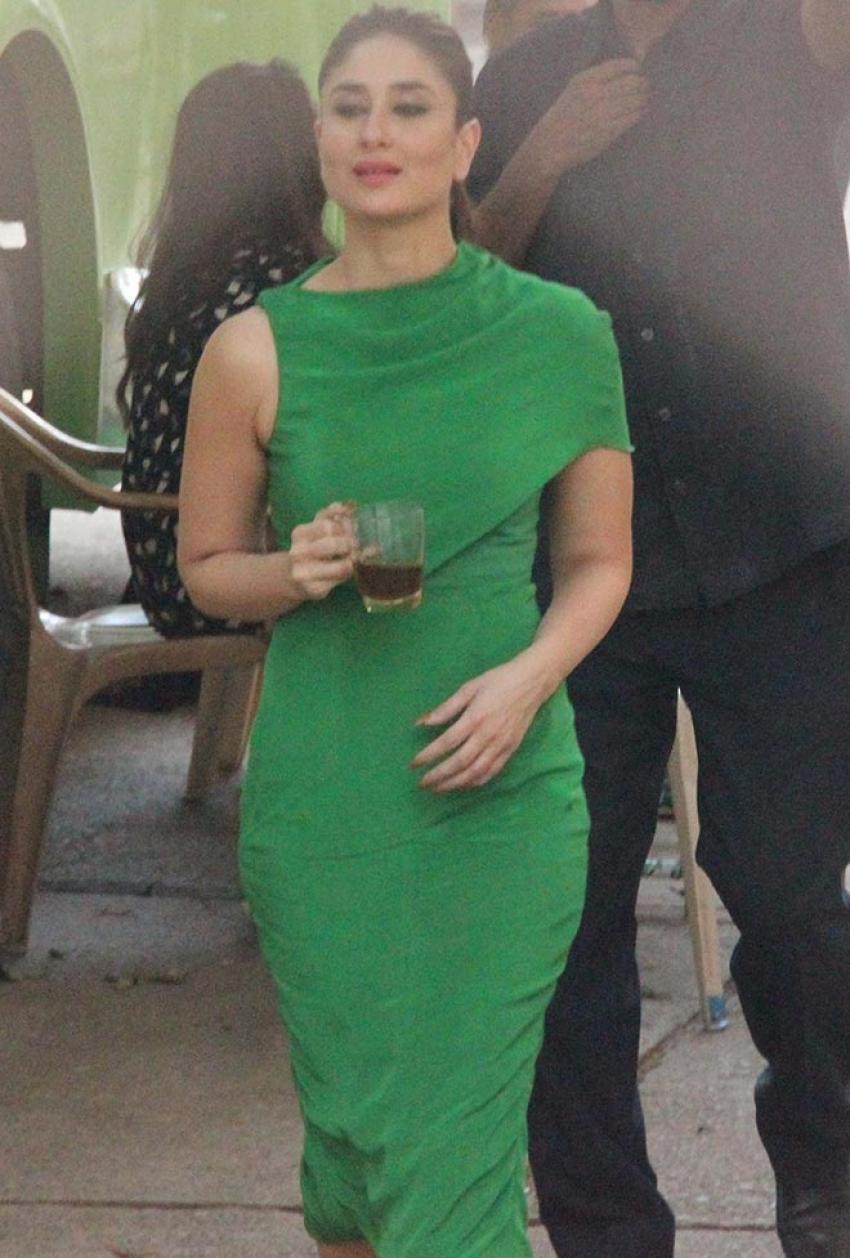 Kareena Kapoor Spotted On Location At Mehboob Studio Photos
