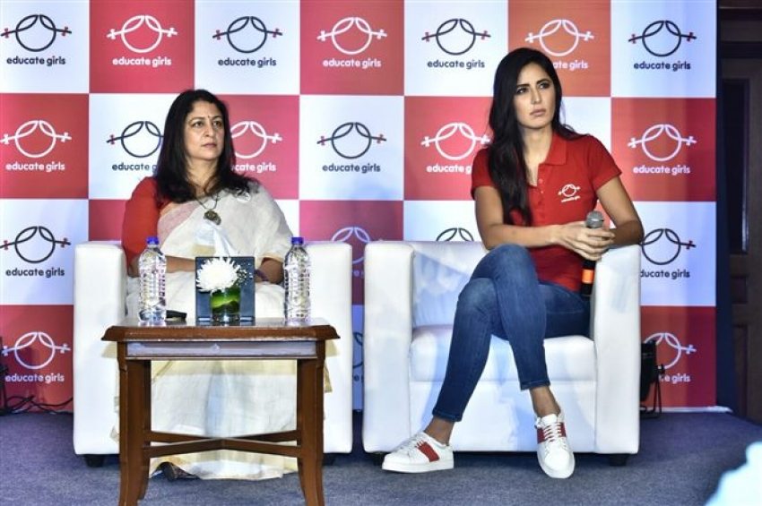 Katrina Kaif Announce Her Association With NGO Educate Girls Photos