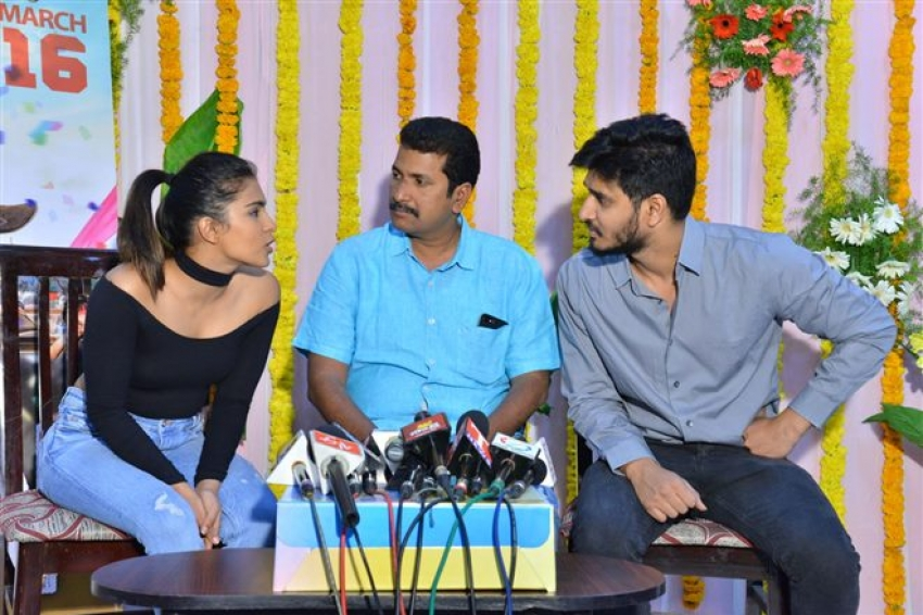 Kirrak Party Movie Success Celebrations Photos