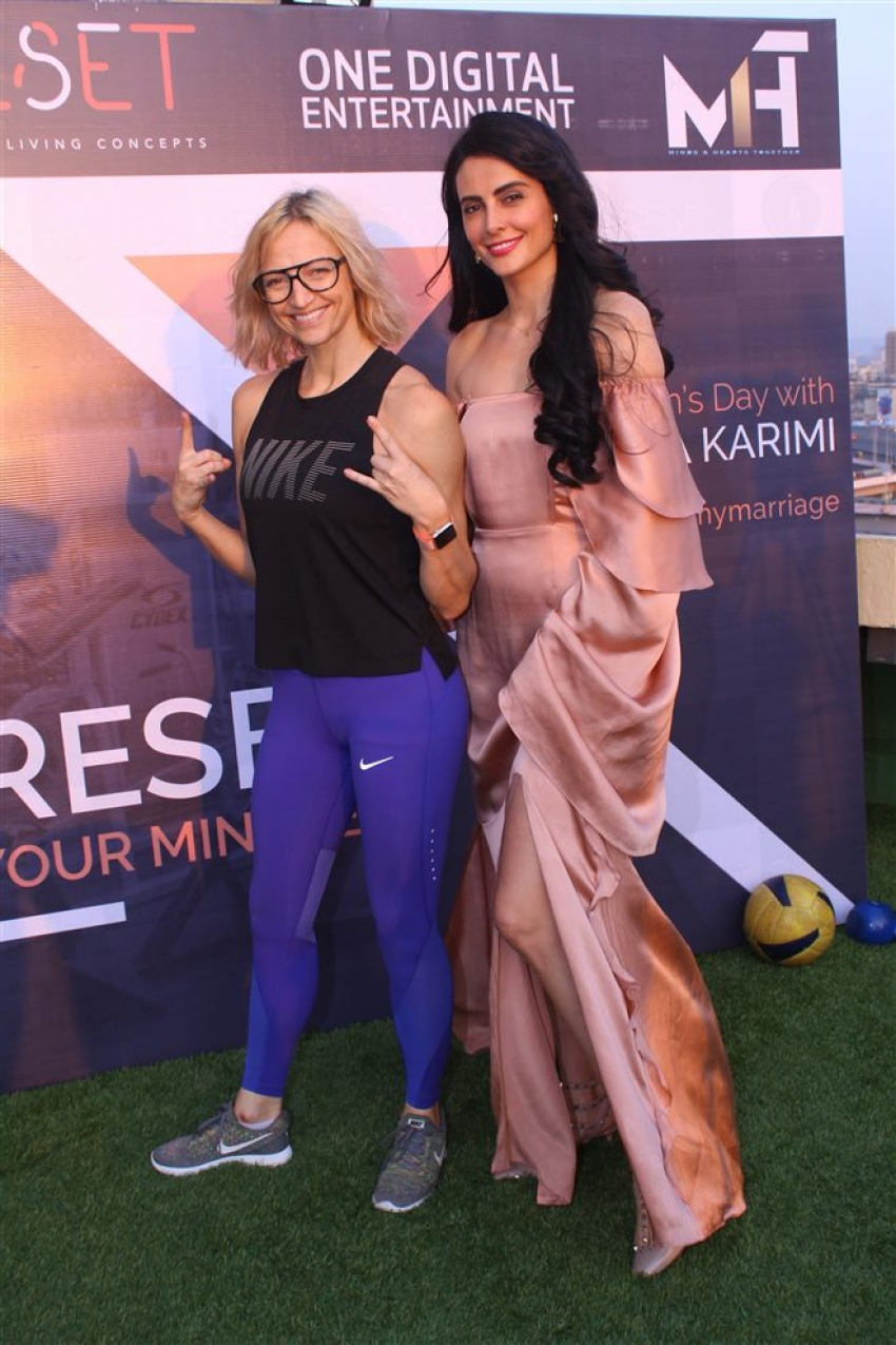 Mandana Karimi Celebrate International Women's Day 2018 Photos