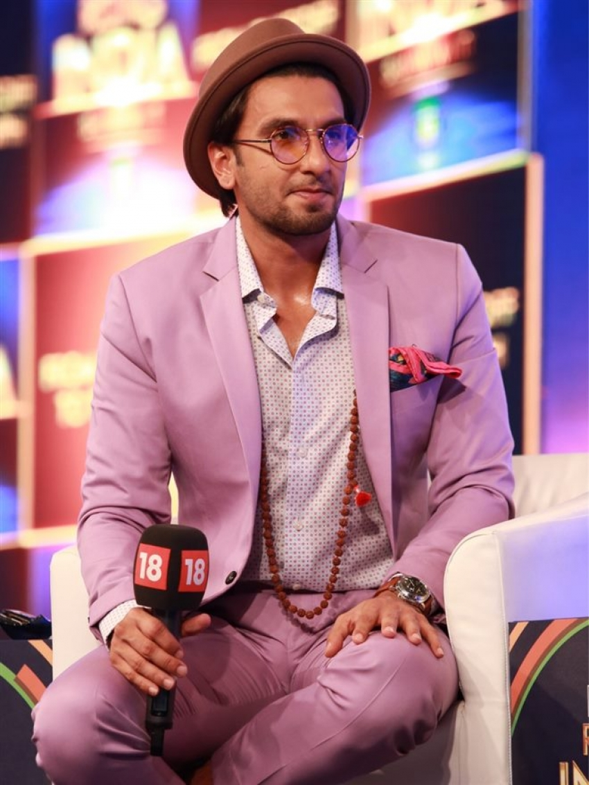 Ranveer Singh For CNN IBN India Rising Event In Delhi Photos