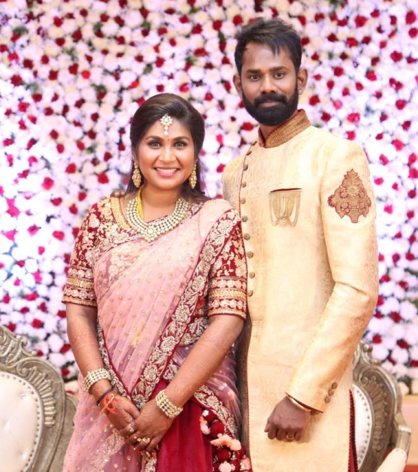 RJ Ramesh Thilak & RJ Navalakshmi Wedding Reception Photos