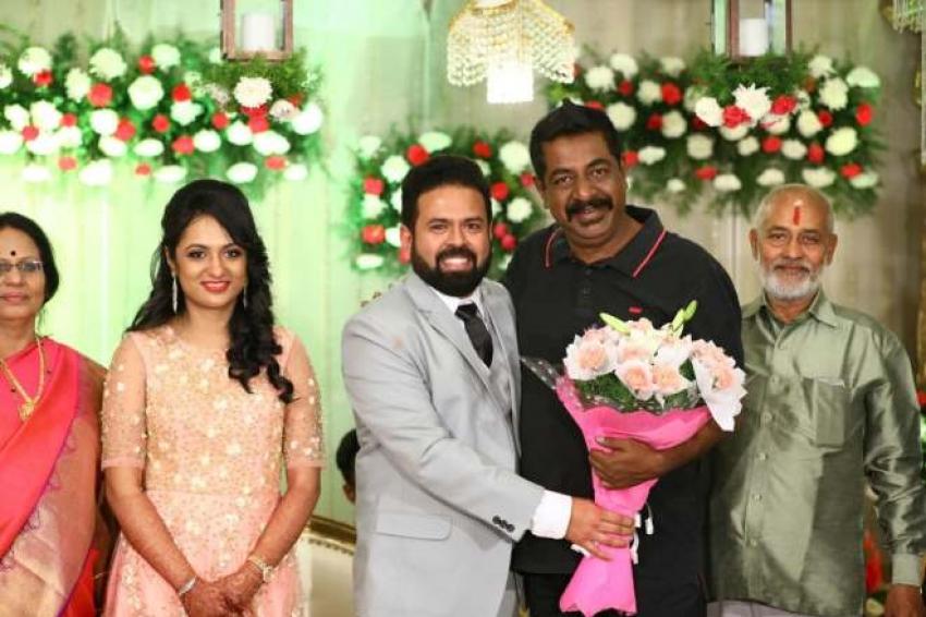Santhosh Anandram Wedding Photos