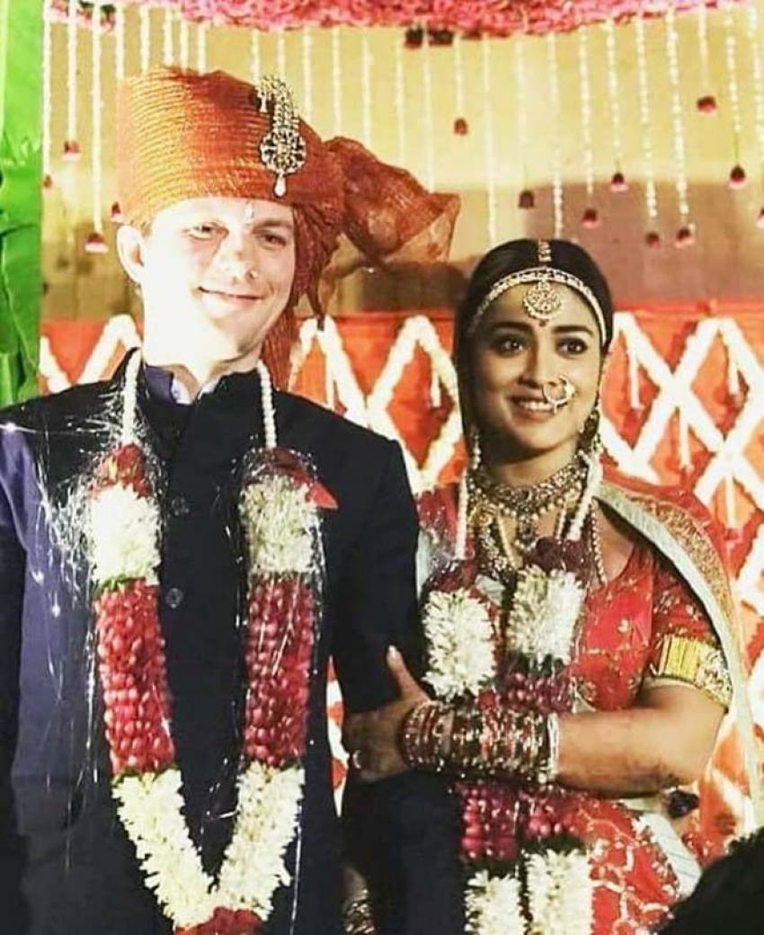 Shriya Saran & Andrei Koscheev Wedding Photos