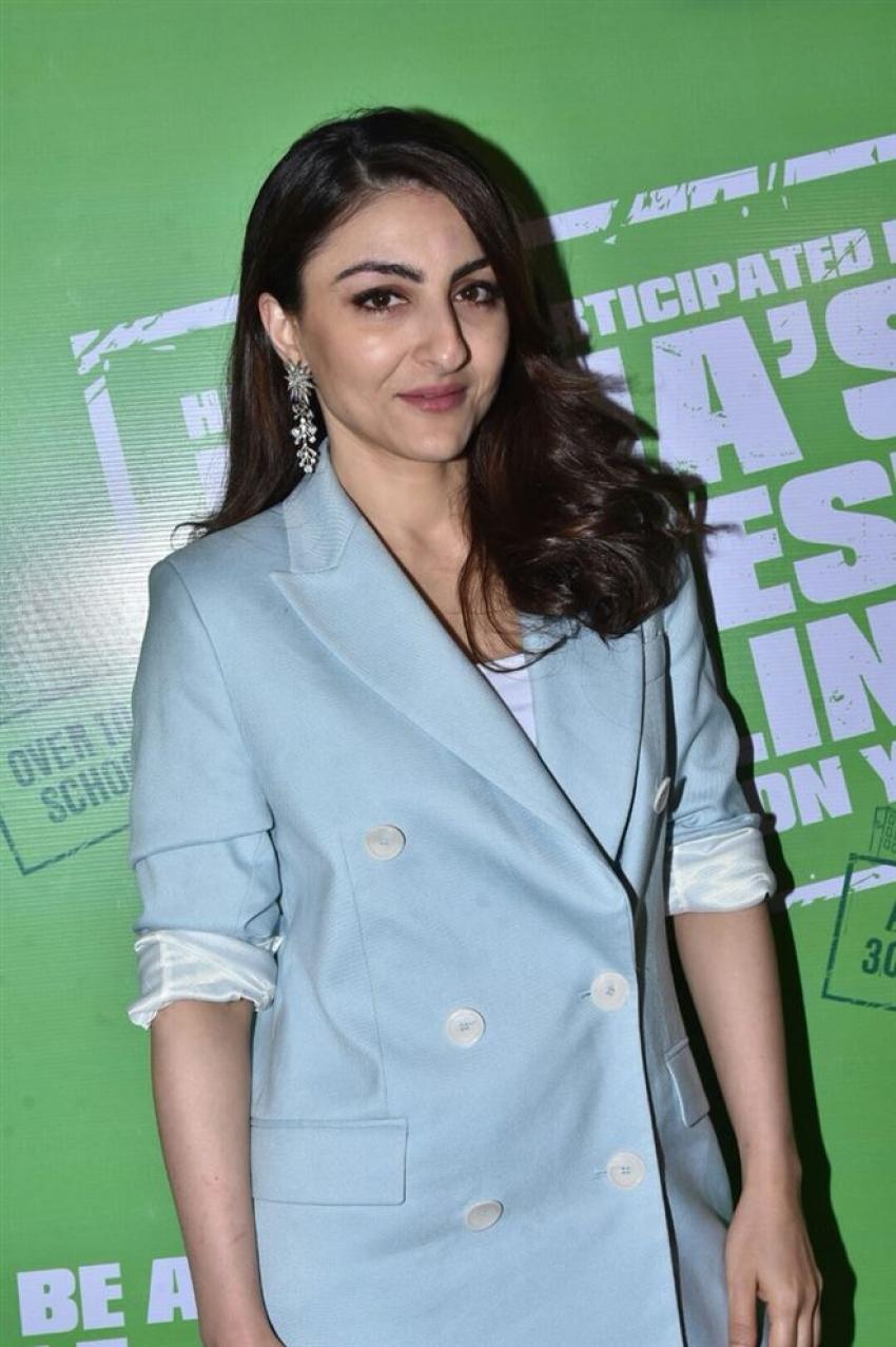 Soha Ali Khan At Be Better than Yourself Winner Announcement Photos